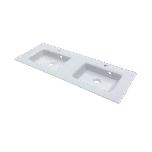 Plan vasque meuble de salle de bains leroy merlin - Vasque salle de bain en verre leroy merlin ...