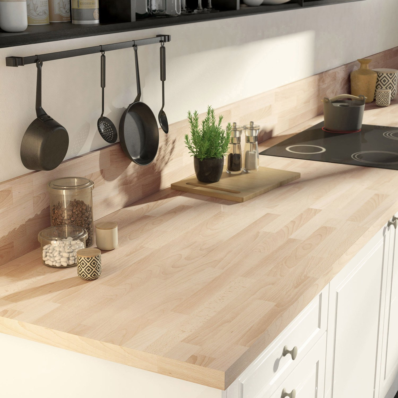 cr dence stratifi effet h tre lamell marbre noir brillant cm x cm leroy merlin. Black Bedroom Furniture Sets. Home Design Ideas