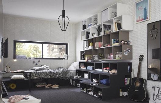 id es et projets d co am nagement dressing rangements. Black Bedroom Furniture Sets. Home Design Ideas
