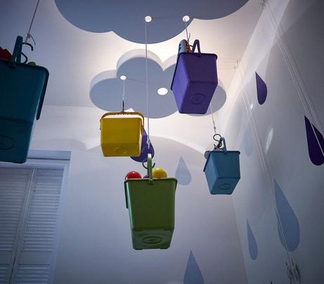 Une installation inspirée du monde de l'enfance