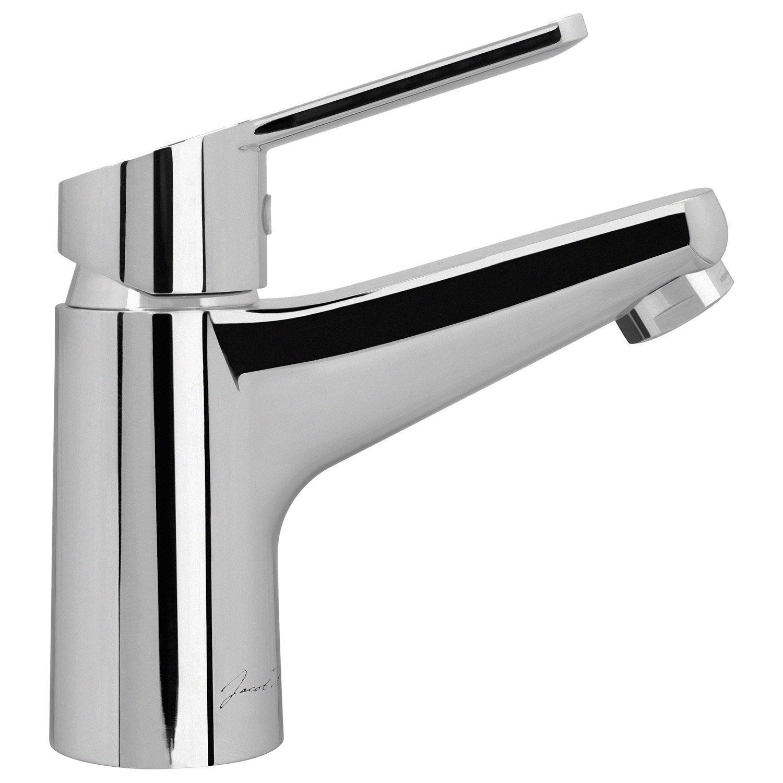 jacob delafon lavabo Mitigeur de lavabo chromé brillant, JACOB DELAFON Marcel