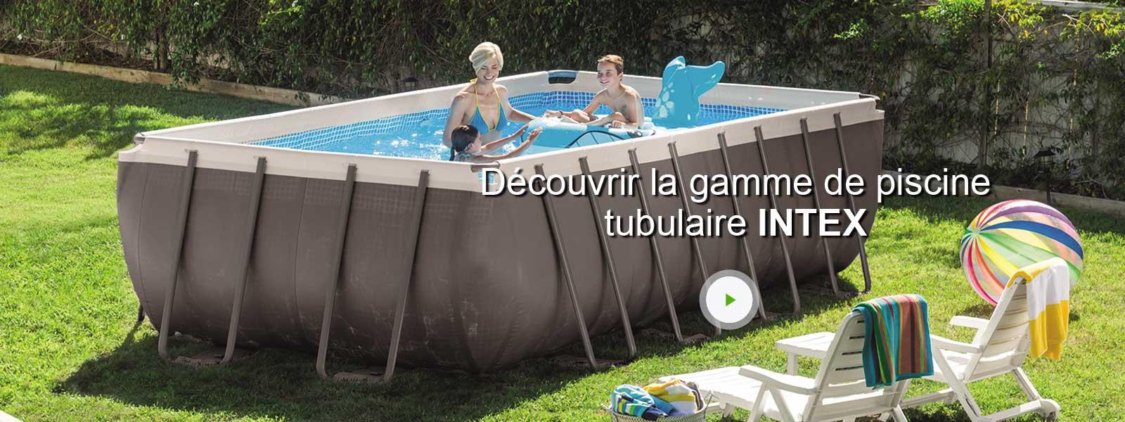 piscine hors sol tubulaire ultra intex l x l 3 3 x h. Black Bedroom Furniture Sets. Home Design Ideas