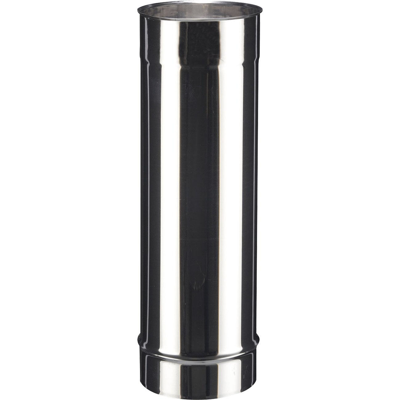 tuyau inox de raccordement poujoulat diam 150 mm 50 cm. Black Bedroom Furniture Sets. Home Design Ideas