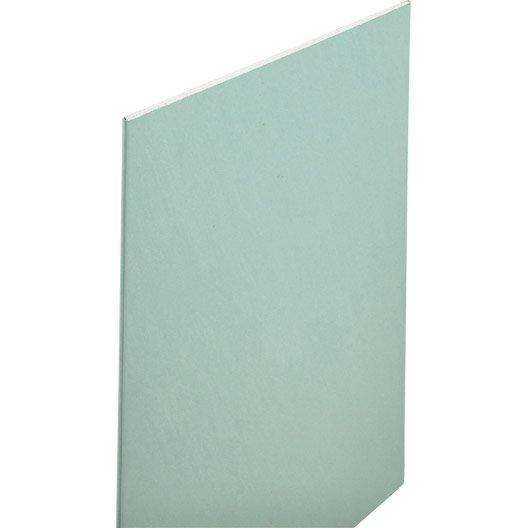 plaque de pl tre hydro nf h1 2 5 x 1 2 m ba13 entraxe 60. Black Bedroom Furniture Sets. Home Design Ideas