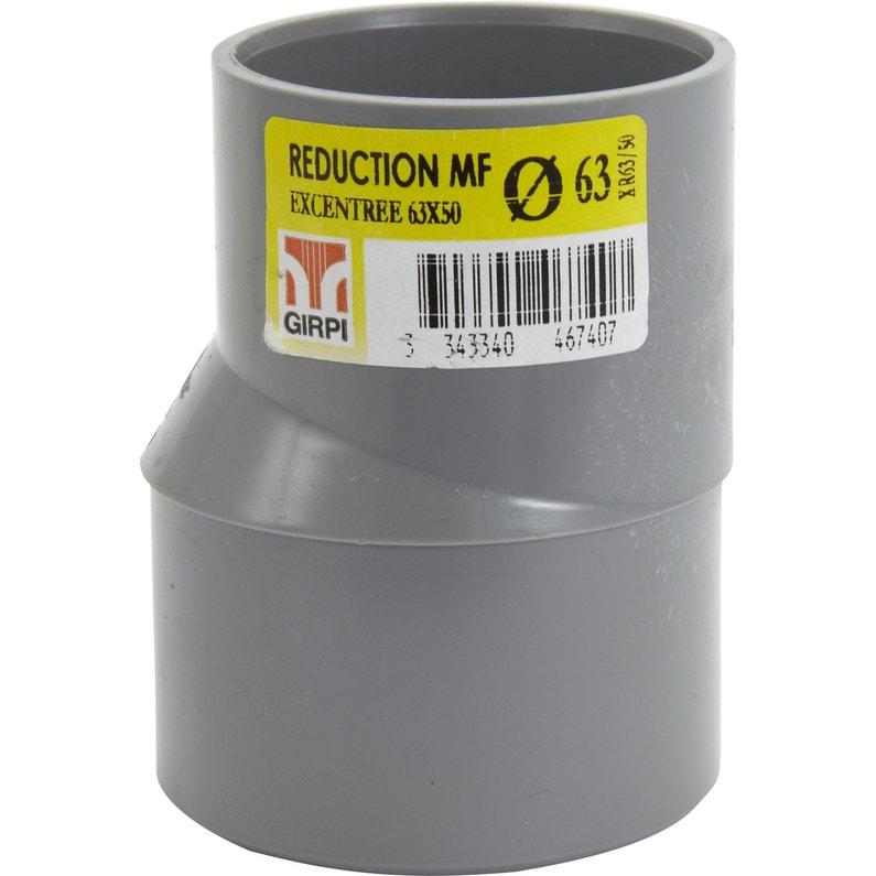 Réduction Excentrée En Pvc à Coller Femelle Mâle D6350