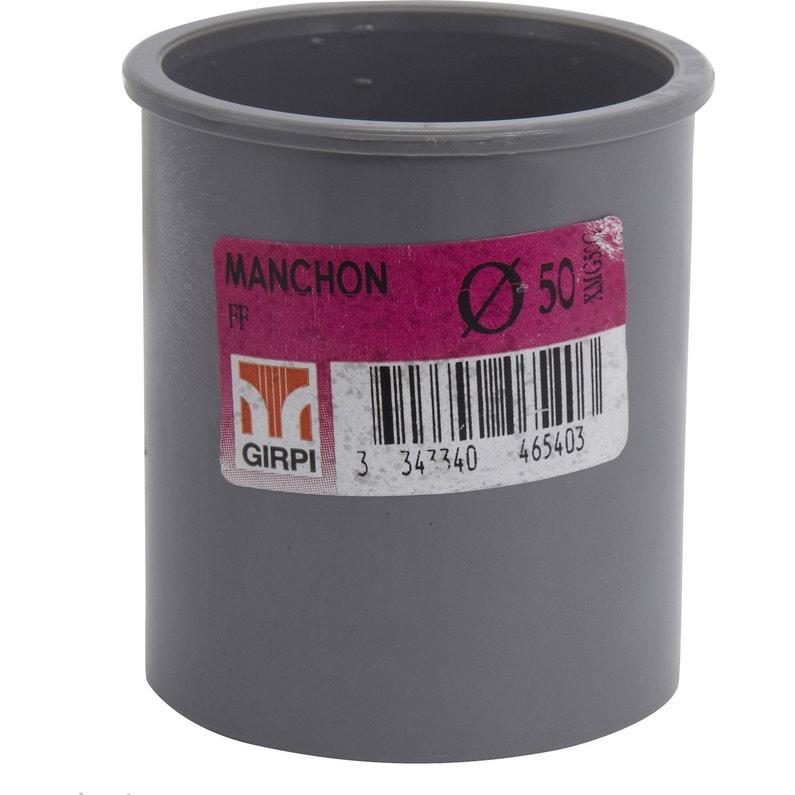 Manchon En Pvc à Coller Femelle Femelle D50