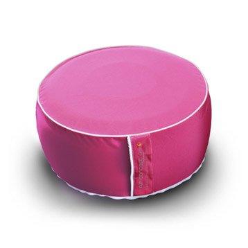 Pouf d'assise et dossier de chaise ou fauteuil fuchsia Air concept MY NOTE DECO