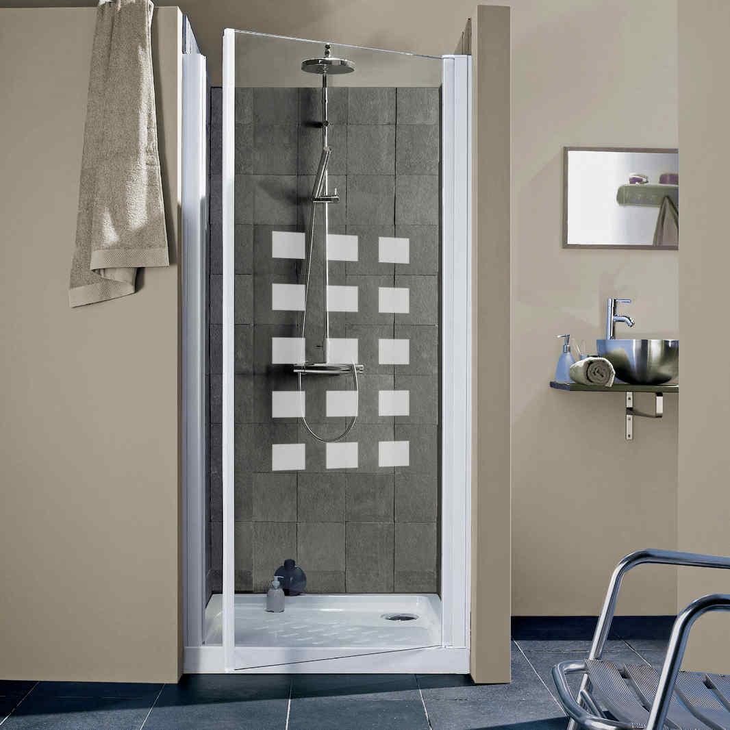 Bien choisir sa porte et sa paroi de douche leroy merlin - Dimension porte douche ...