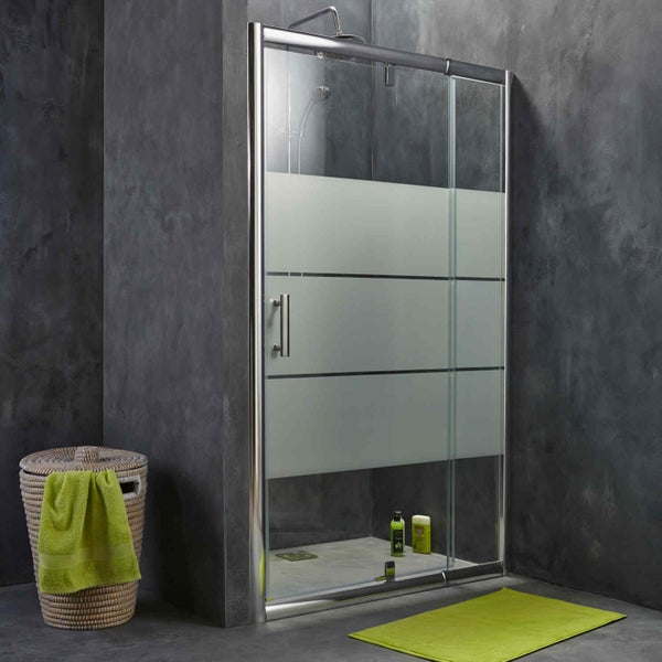 comment choisir sa porte et sa paroi de douche leroy merlin. Black Bedroom Furniture Sets. Home Design Ideas