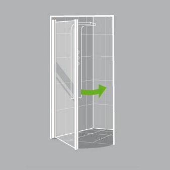 comment choisir sa porte et sa paroi de douche leroy. Black Bedroom Furniture Sets. Home Design Ideas
