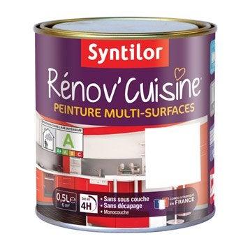 Peinture Rénov'cuisine SYNTILOR, Blanc, 0.5 l