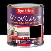 Peinture de rénovation Rénov'cuisine SYNTILOR, noir, 0.5 L