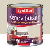 Peinture de rénovation Rénov'cuisine SYNTILOR, creme de gingembre, 0.5 L