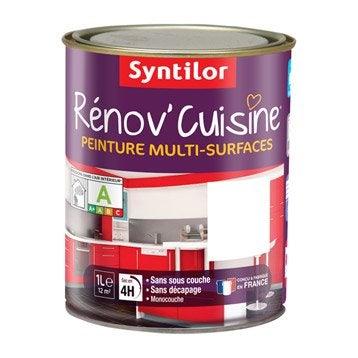 Peinture Rénov'cuisine SYNTILOR, Blanc, 1 l