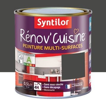 Peinture Rénov'cuisine SYNTILOR, Gris Pavot, 0.5 l