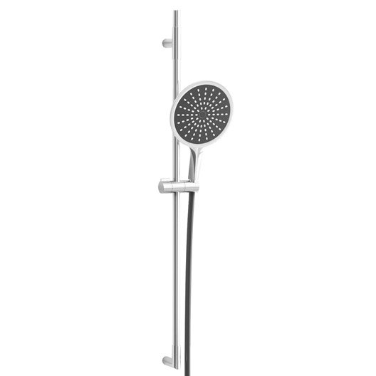 pommeau de douche 1 jet flexible barre hoop plus leroy merlin. Black Bedroom Furniture Sets. Home Design Ideas