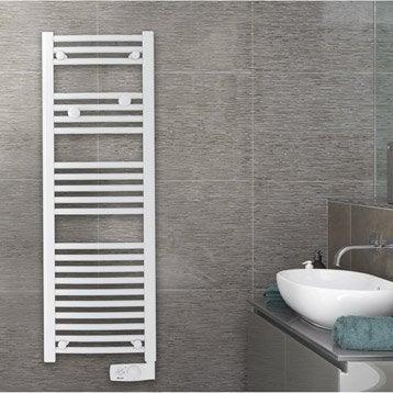 Sèche-serviettes électrique à inertie fluide SAUTER Goreli Slim 500 W