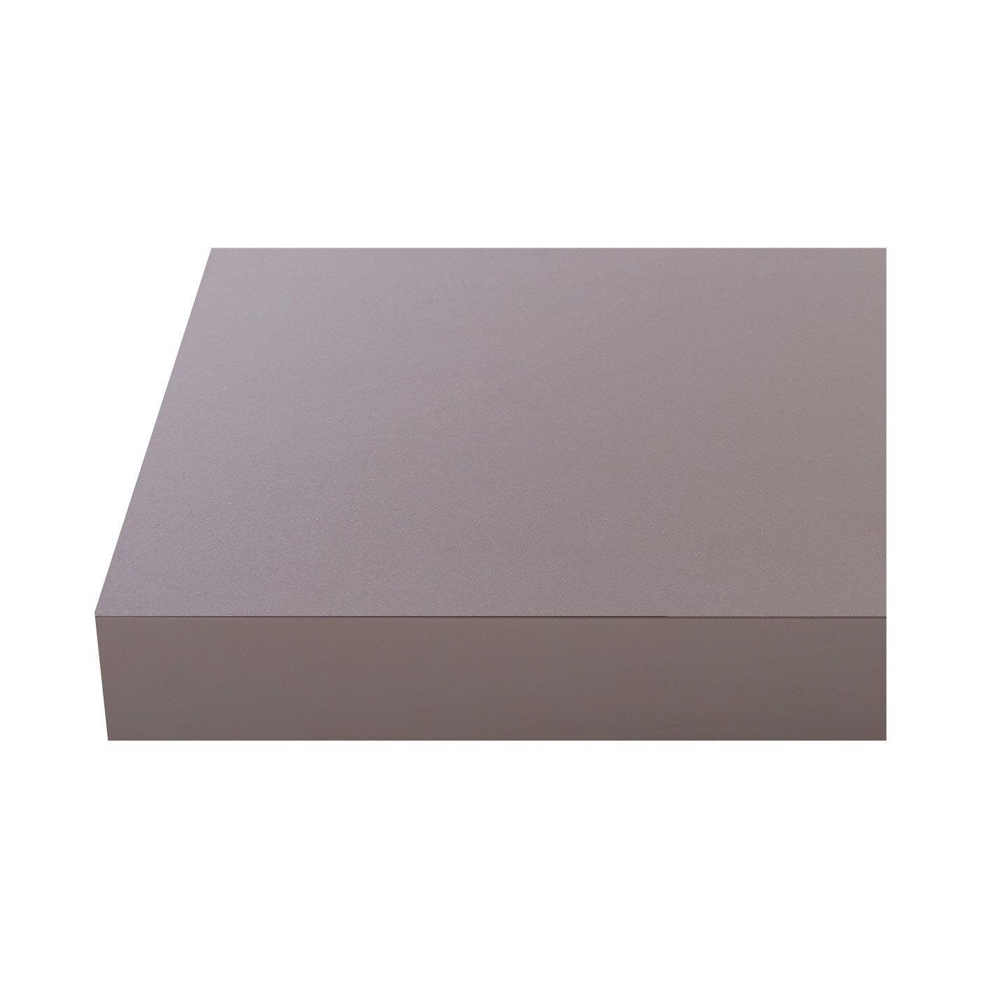 Plan de travail stratifié Granit 3 Mat L.300 x P.65 cm, Ep.38 mm