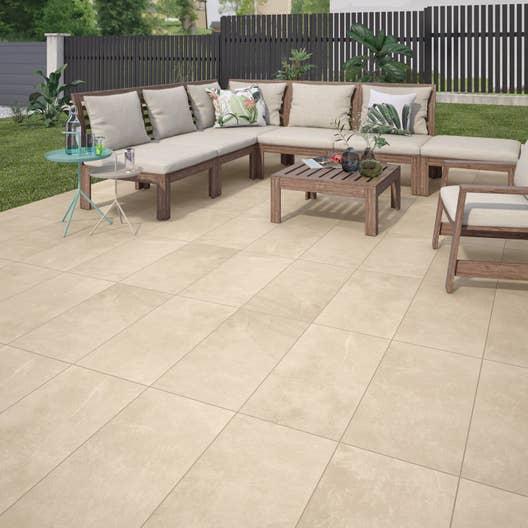 carrelage sol beige effet pierre sicile x cm. Black Bedroom Furniture Sets. Home Design Ideas