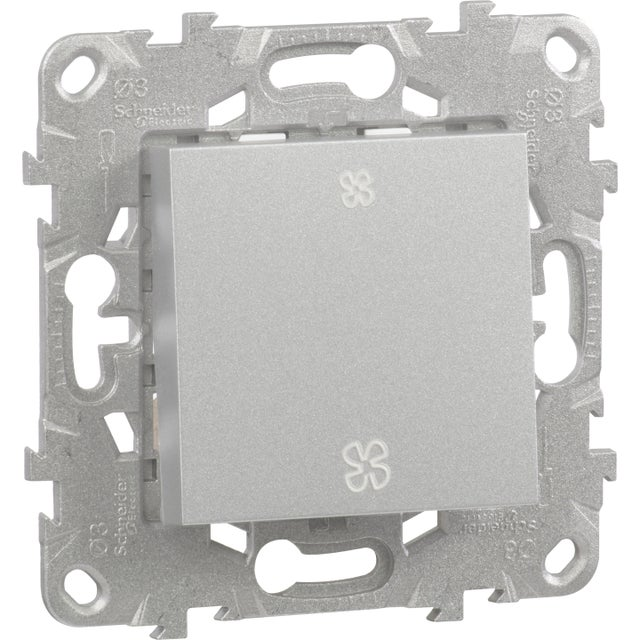 Commande Vmc Unica Schneider Electric Aluminium