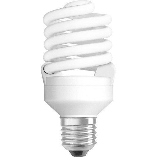 ampoule spirale fluorescente 23w 1400lm quiv 100w e27. Black Bedroom Furniture Sets. Home Design Ideas