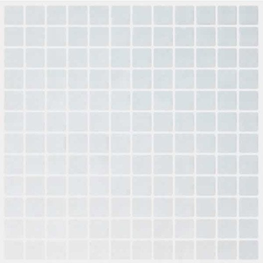 Mosa que anti d rapante blanc 2 5 x 2 5 cm leroy merlin for Pose carrelage mosaique sol