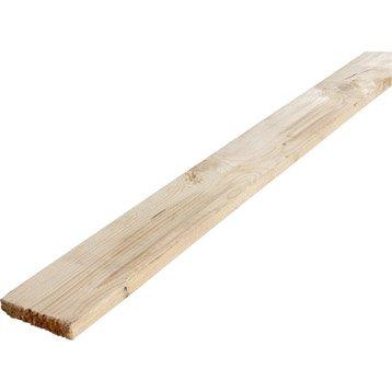 Planche sapin (épicéa) non traité 25x150 mm 3 m chx3