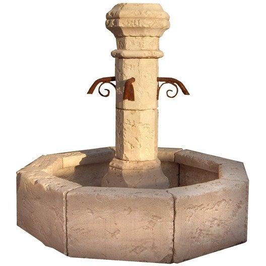 Fontaine en pierre reconstitu e pierre vieillie village for Pierre reconstituee exterieur