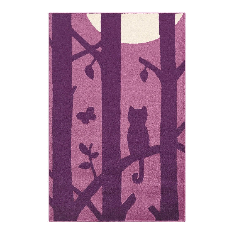 Tapis multicolore Enfant velours chat, l.100 x L.150 cm | Leroy Merlin