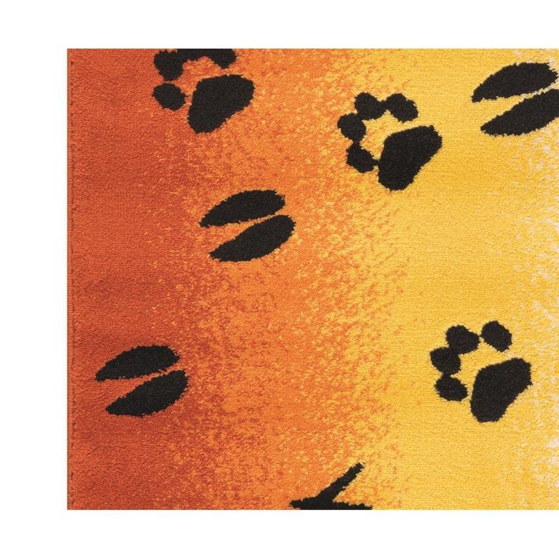 Tapis Multicolore Enfant Velours Traces L X L Cm Leroy Merlin - Plinthe carrelage et tapis enfant jaune