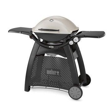 Barbecue au gaz WEBER Q3000, titanium