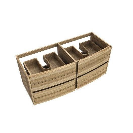 meuble sous vasque x x cm fairway leroy merlin. Black Bedroom Furniture Sets. Home Design Ideas