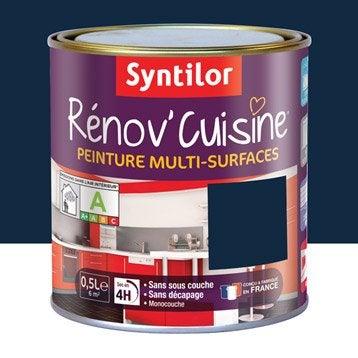 Peinture Rénov'cuisine SYNTILOR, Violet myrtille, 0.5 l