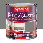 Peinture de rénovation Rénov'cuisine SYNTILOR, poivre gris, 0.5 L