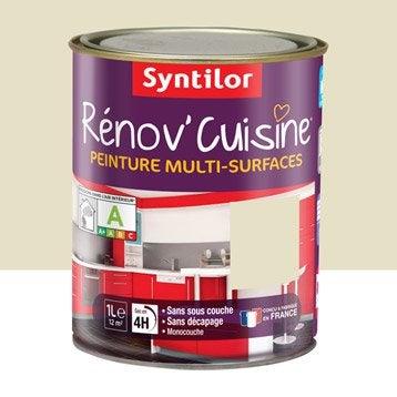 Peinture Rénov'cuisine SYNTILOR, Beige graine de sésame, 1 l