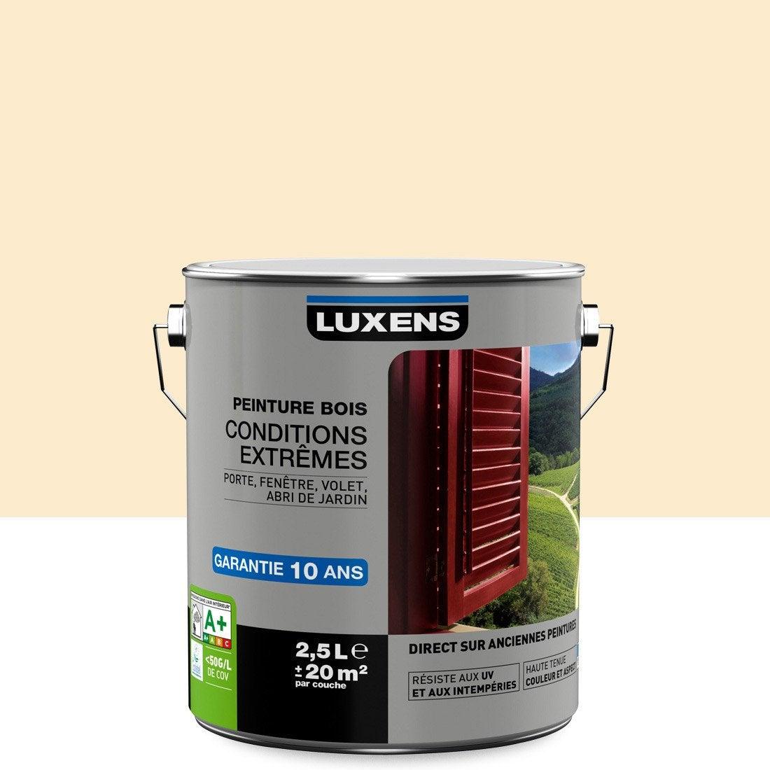 Peinture Bois Extérieur Conditions Extrêmes Luxens Sable Clair 25
