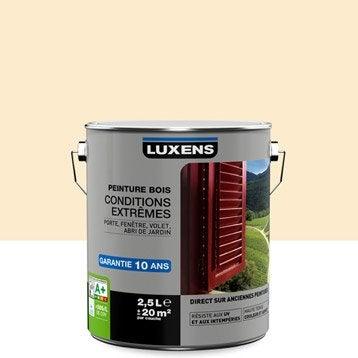 Peinture bois extérieur Conditions extrêmes LUXENS, sable clair, 2.5 l