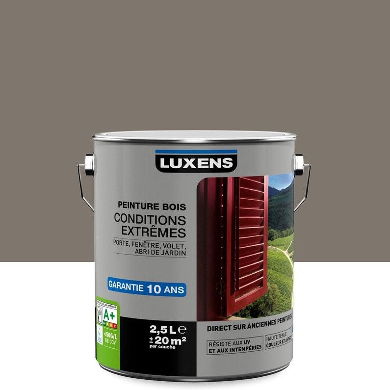 Peinture Bois Extérieur Conditions Extrêmes Luxens Brun Taupe N3
