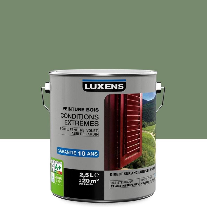 Peinture Bois Extérieur Conditions Extrêmes Luxens Vert Olivier