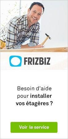 Frizbiz - Cremaillere etagere leroy merlin ...