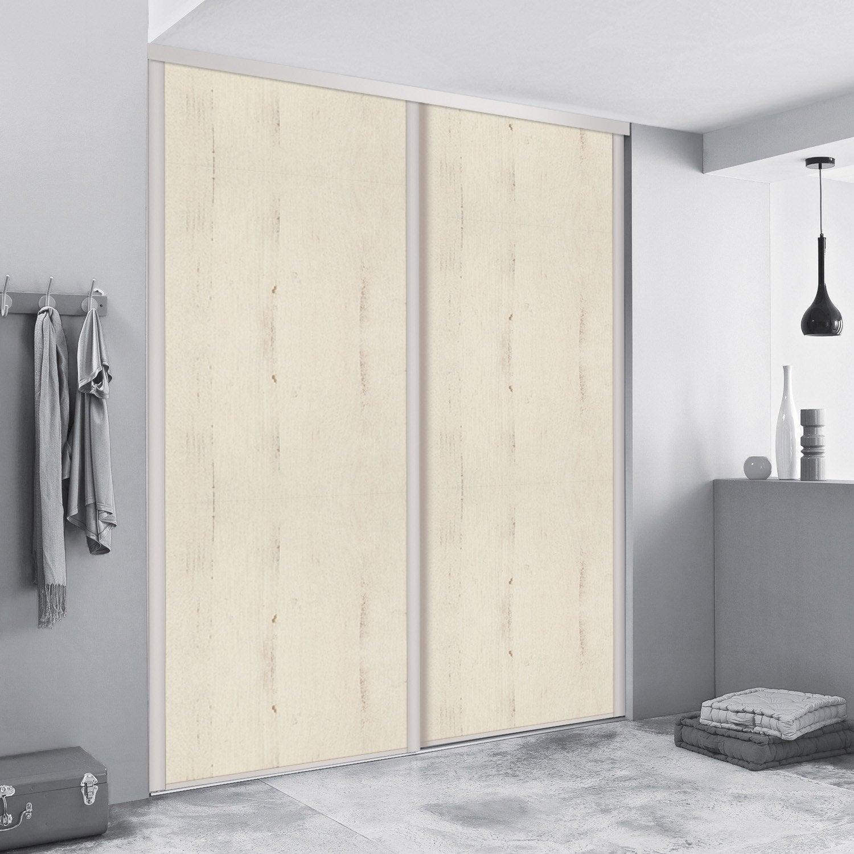 porte de placard coulissante sur mesure spaceo traditionnel de 100 1 120 cm leroy merlin. Black Bedroom Furniture Sets. Home Design Ideas