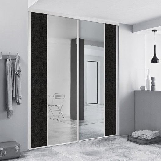 porte de placard sur mesure leroy merlin. Black Bedroom Furniture Sets. Home Design Ideas