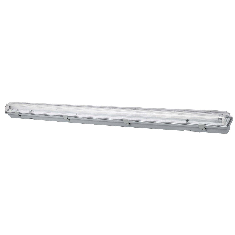 Réglette LED 1 x 18 W T8 blanc froid