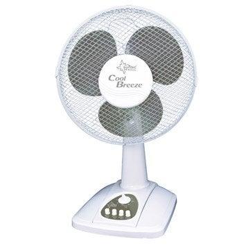 Ventilateur sur pied, Ventilateur de table coolbreeze suntec 25cm, D 25 cm 20 W