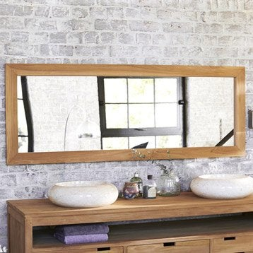 Miroir de salle de bains accessoires et miroirs de salle for Miroir 160 cm