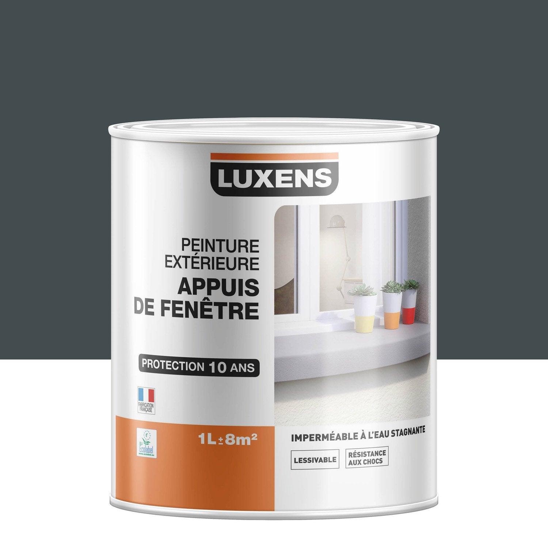 Peinture Appui De Fenêtre Luxens Gris Ral 7016 1 L Leroy Merlin