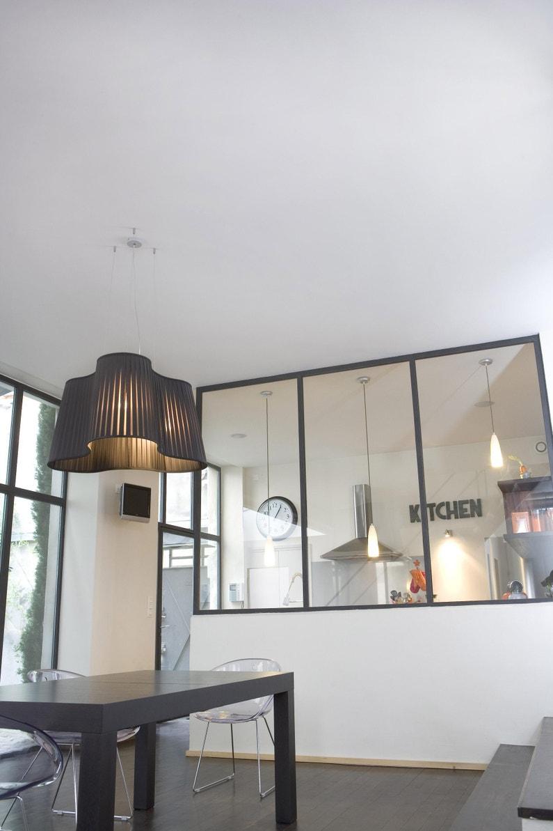 Couvrir Une Cour Intérieure peinture v33 mur, plafond et boiserie intérieur résiste extrême blanc mat,  10 l