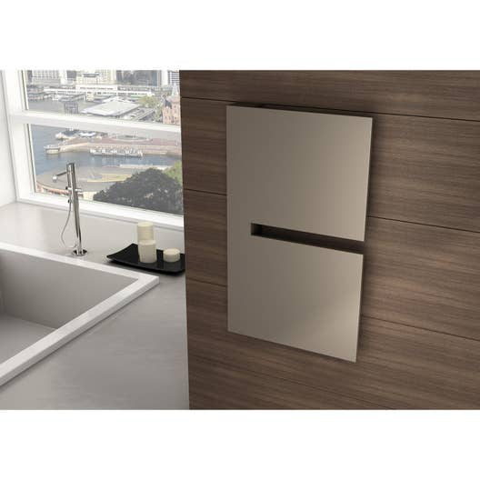 radiateur lectrique inertie pierre irsap sequenze 260 w leroy merlin. Black Bedroom Furniture Sets. Home Design Ideas