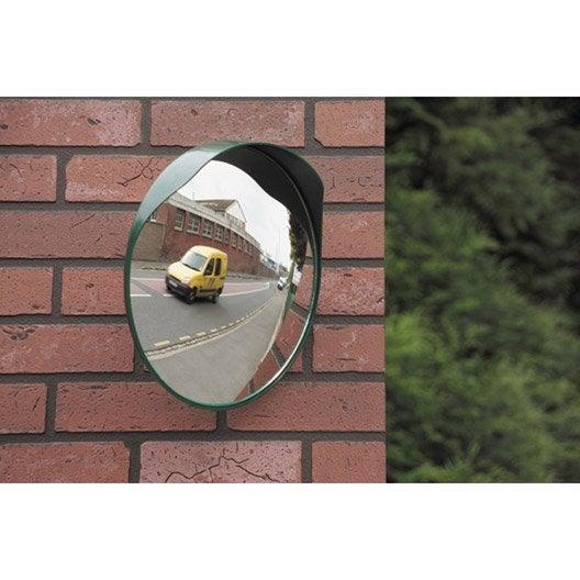 miroir de sortie convexe, diam. 30 cm, distance de vision de 3 m