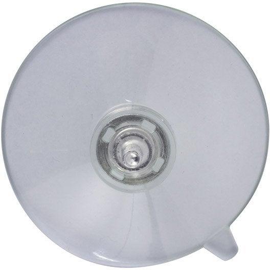Bouton de meuble ventouse plastique mat leroy merlin for Ventouse salle de bain